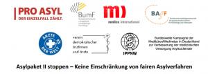 Asylpaket II stoppen – Keine Einschränkung von fairen Asylverfahren