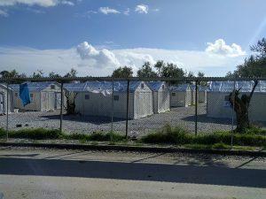 Flüchtlings -Lager